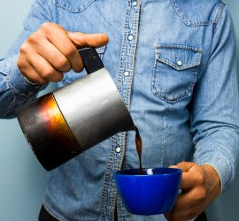 Offer a coffee service in your office